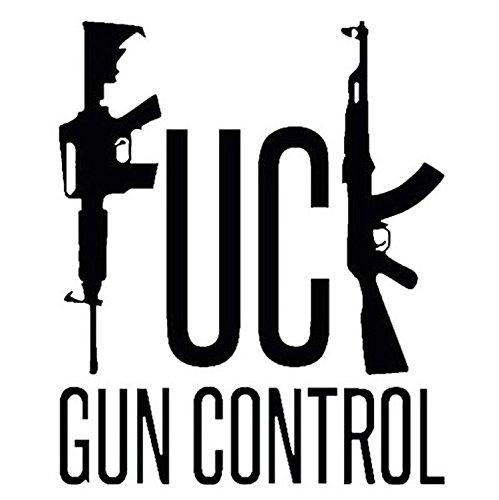 Fuck Gun Control AR15 Assault Rifle Gun Rifle Vinyl Decal Sticker...