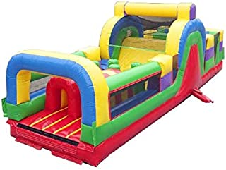 Best inflatable obstacle course with slide Reviews