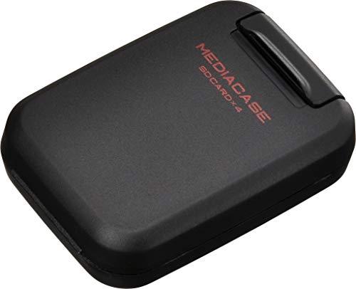 HAKUBA ポータブル メディアケース S SDカード用 4枚収納 ブラック DMC-20SSDBK