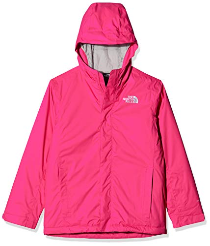 THE NORTH FACE Kinder Y Snow Quest Jacket Insulated Synthetic, Mr. Pink, M