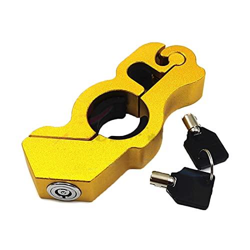Cerraduras de seguridad para manillar de motocicleta, agarre de seguridad de la calle, scooter, Dirt Bikes protección contra robo