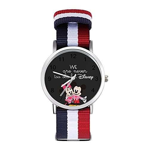 Minnie MouseWatches son impermeables, versátiles, informales, estudiantes, hombres y mujeres, deportes de moda y temperamento simple