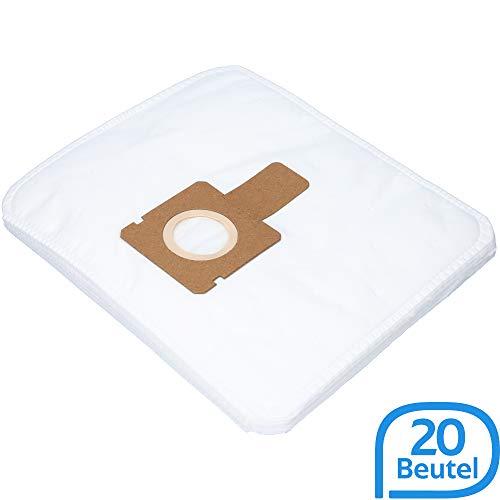 20 Staubsaugerbeutel geeignet für Hoover Brave BV71_BV00. BV71_99 Staubsauger, Beutel-Typ L 36 inkl. Filter