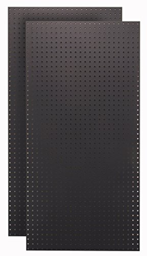 Triton Products HDB-2 Black HDF Pegboards