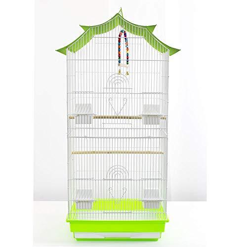Pet's Solution Gabbia per Uccelli calopsite parrocchetti canarini cocorite. Voliera Uccelli