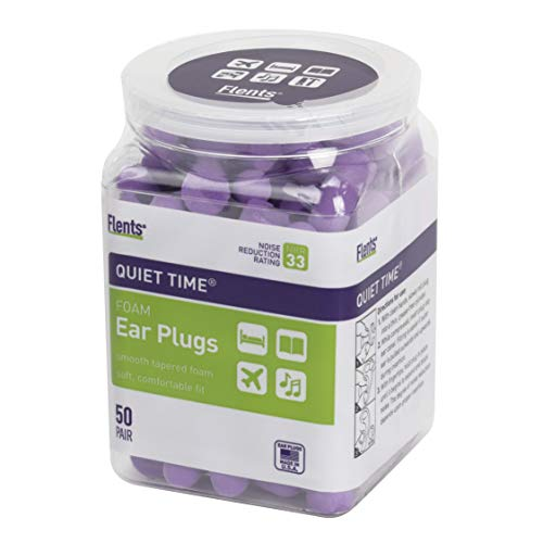 Flents Quiet Time Ear Plugs (50 Pair) NRR 33