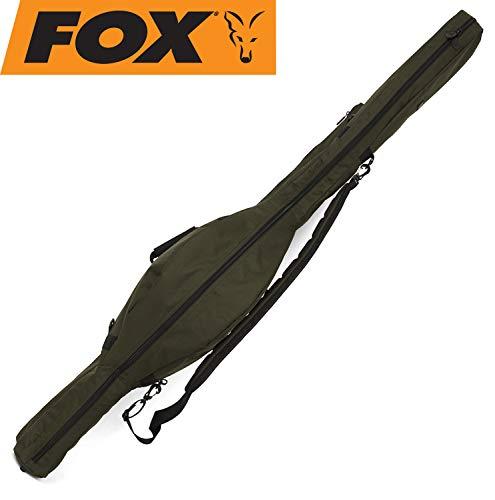 Fox R-Series Sleeve 2 Rod 12ft 192x34x26cm - Rutentasche für Karpfenruten, Angeltasche für Angelruten zum Karpfenangeln