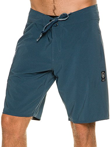 Volcom Men's Lido Solid Mod 20Board Shorts Men's Swimming Trunks blue,...