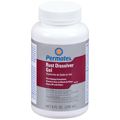 Permatex 81756 Rust Dissolver Gel, 8 oz.