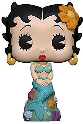Funko- Pop Vinilo: Betty Boop: Mermaid Figura Coleccionable, Multicolor, Estándar (38485)