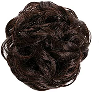 Women's Synthetic Hair Wig Lovely Youthful Synthetic Loose Updo Bun Accessory