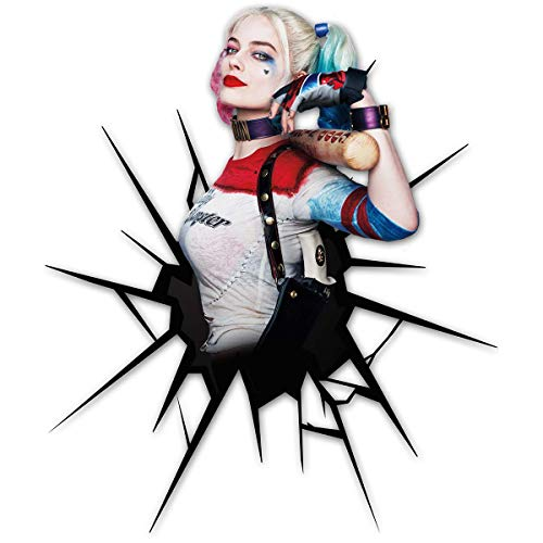 Bumper Funny Sticker Harley Aesthetic Quinn Vinyl Colorful Waterproof Decal for Car Truck Vehicle Window