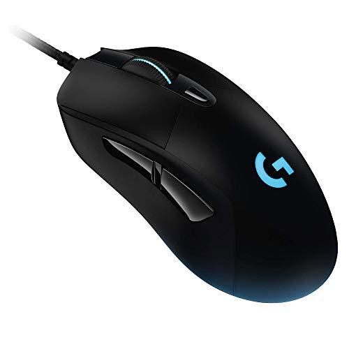 Logicool G ゲーミングマウス 有線 G403h HEROセンサー エルゴノミクスLIGHTSYNC RGB 6個プログラムボタン 国内正規品