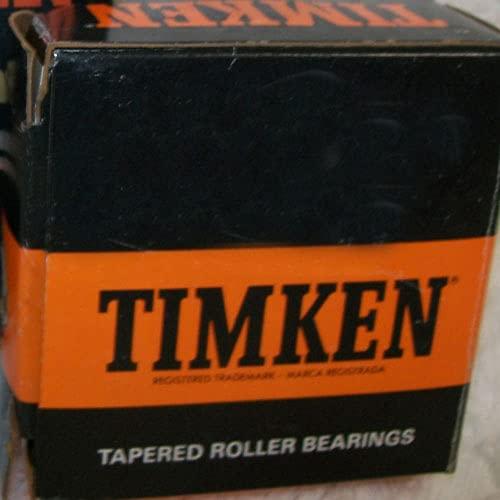 TIMKEN jw8049Tapered rodamiento de rodillo, único cono estándar, tolerancia, recto calibre, acero, pulgadas, 3.1496'ID, 1.6140' Ancho
