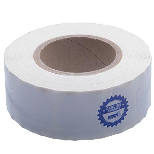 Kenco Premium Inkjet Etiketten für Tintenstrahldrucker, 5,1 cm, rund, hochglänzend Kompatibel mit Primera Color Etikettendruckern und vielen anderen Druckermarken. 1250 Etiketten auf 7,6 cm Kern.