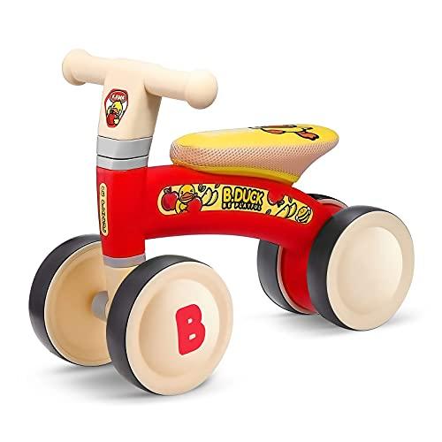 OLYSPM Bicicleta sin Pedales Bicicleta Bebe 1 año Correpasillos Bebe 1 año, Adecuado para niños de 10 a 24 Meses,Bici Bebe 1 año Excelente Regalo para Bebe de 1 Año