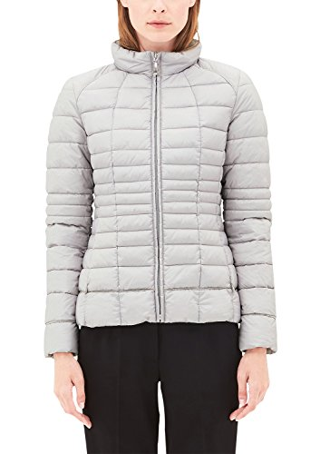 s.Oliver BLACK LABEL Damen 29708513737 Jacke, Grau (Grey/Black 9120), 44
