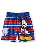 Toddler Boys Disney Mickey Mouse M28 Blue Swim Short Trunk - 2T
