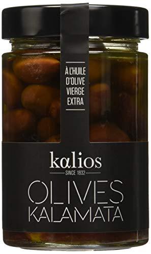 Kalios Kalamata Aceitunas en Aceite de Oliva Virgen Extra - 310 gr