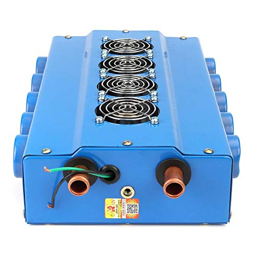 Elektrische fanDC 12 V elektrische koeler, 2000 W 16 tube de kuip met 10 snelheden, voor het opbergen van elektrische en soufflerie, chopage en ventilator, voor voiture en bewegingsmelder