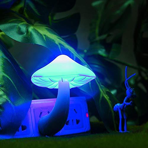 Plug Schattige Paddestoel Stopcontact Lamp LED Inductie Nachtlampje Slaapkamer Verlichting Huis Decoraties Huishoudelijke Artikelen