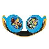 Lexibook Disney Toy Story 4, Woody, Buzz & Forky, Stereokopfhörer, kinderfreundliche Kraft, faltbar und einstellbar, Blau/Gelb, HP015TS -