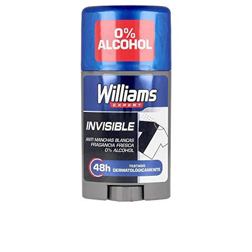 Williams DESODORANTE STICK 75 ML. INVISIBLE.BEDAR