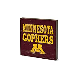 NCAA Legacy Minnesota Golden Gophers Table Top Square, One Size, Wood