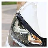 Cubierta Ceja Faros De Cejas Párpados A&BS Cromados Cubierta De Pegatinas Para V&olkswagen Para V&W Para G&olf GTI 7 MK7 Accesorios Car Styling