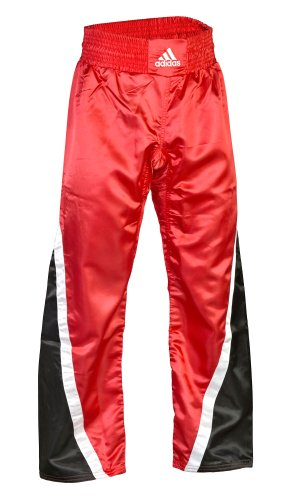 adidas Abverkauf Kickboxhose Team Rot Schwarz