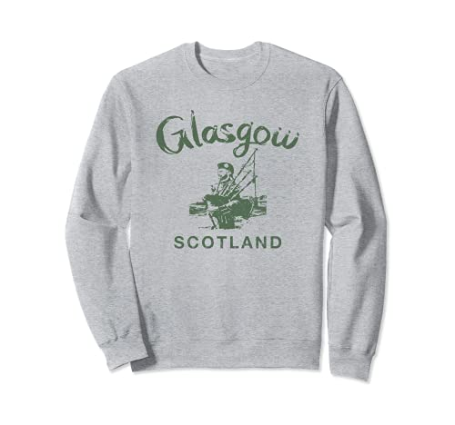 Glasgow Escocia Galico Escocs Vintage Galico Sudadera
