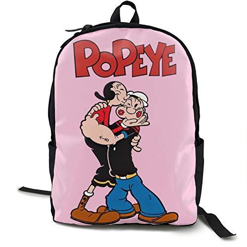 Popeye - Zaino da trekking per sport all'aria aperta, campeggio, arrampicata, ciclismo, viaggi, zaino
