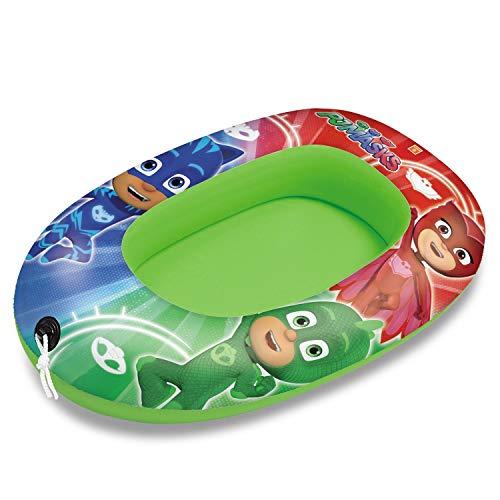 Mondo Toys - PJ Masks Small Boat - Canotto Gonfiabile / Gommone per Bambini - misura 94 cm...