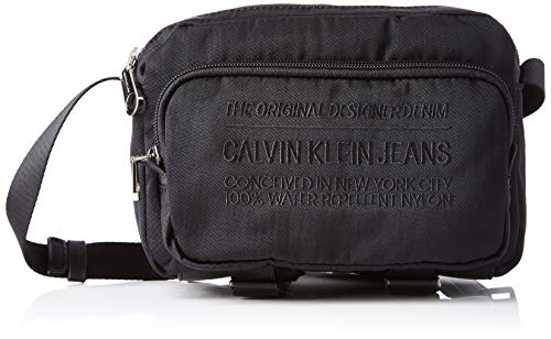 Calvin Klein Nylon Utility Utility Camera Bag - Borse a spalla Uomo, Nero (Black), 1x1x1 cm (W x H L)