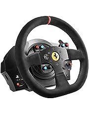 Thrustmaster 262790 T300 Ferrari Integral Racestuur Voor Ps4/Ps3/Windows, Alcantara-Editie Pc
