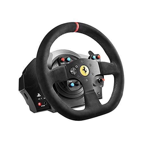 Thrustmaster T300 Ferrari Integral - Alcantara Edizione Volante Include 3-Pedali, PS4 / PS3 / PC