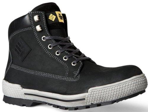 2work4 Sicherheitsschuh Panther Stiefel Nubuk Leder S3 Boots bis Größe 51 möglich (50)