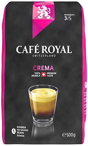 Café Royal Crema Bohnenkaffee, 6er Pack (6 x 500 g)