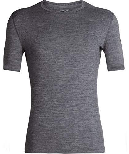 Ice Breaker 200 Oasis T-Shirt Thermique à Manches Courtes pour Homme, Homme, 104509, Gritstone HTHR, M