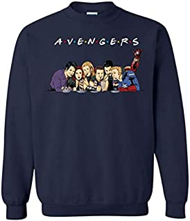Avengers Friends Sweatshirt Friends TV Show