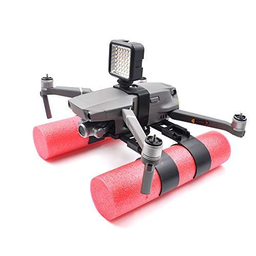 Watopi Drone Landing Legs Mavic 2 Pro/ZOOM, Kit de entrenamiento de aterrizaje extendido Soporte flotante para DJI Mavic 2 Pro/Mavic 2 Zoom Accesorios aterrizaje en piezas de agua (negro)