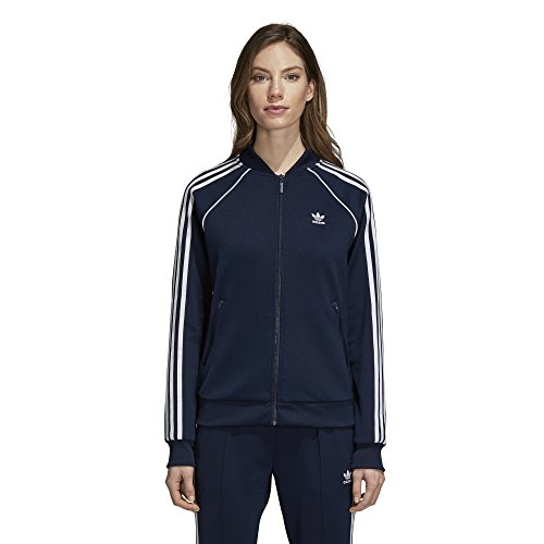 adidas Originals Super Star Trainingsjacke für Damen - Blau - X-Klein