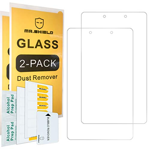 [2-PACK]- Mr.Shield Designed For SamsungGalaxyTabA8.0(2019)(SM-T290Modelonly) [Tempered Glass] Screen Protector with Lifetime Replacement