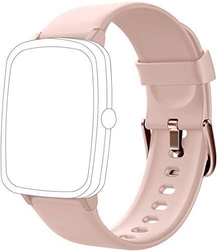 Jogfit Smartwatch Cinturino di Ricambio Accessorio per Smart Watch J205S J205L Fitness Tracker Rosa