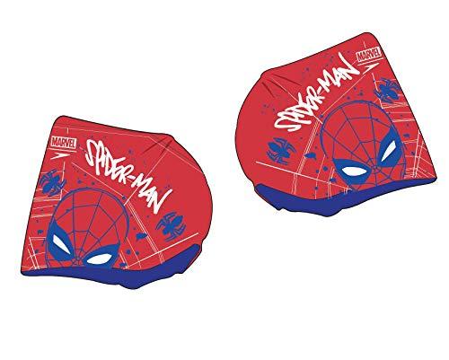 Speedo Unisex-Youth Marvel Spider-Man-Print Schwimmflügel, Lava Red/Beautiful Blue, 2-6