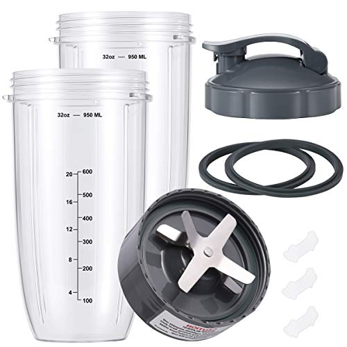 Replacement Parts Compatible with NutriBullet Cups...