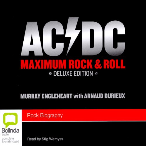 AC/DC: Maximum Rock & Roll audiobook cover art