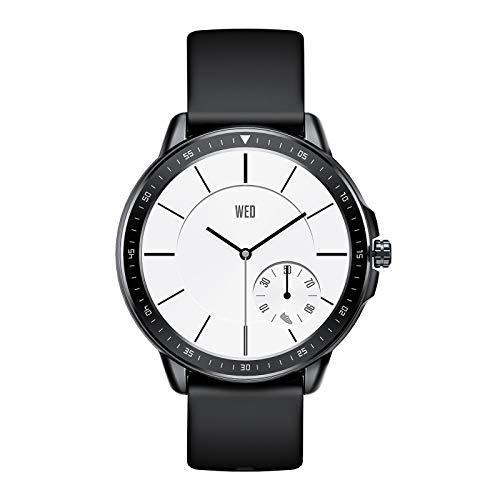 SANAG Smartwatch Activity Tracker Orologio Fitness Tracker Intelligente con Touch Screen, Cardiofrequenzimetro, Contapassi, Contatore di calorie e Impermeabile Smartwatch per Donna, Uomo (Nero)