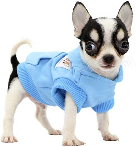 LOPHIPETS Dog Cotton Hoodies Sweatshirts for Small Dogs Chihuahua Puppy Clothes Cold Weather product image