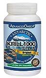 Nutridom Advanced Omega Krill 1000mg 60 Soft Gels Product Of Canada